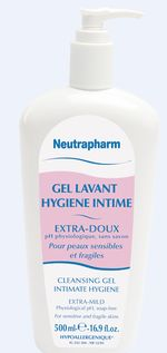 Gilbert neutrapharm gel lavant hygiène intime (100 ml)