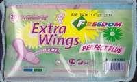 Freedom serviettes hygienniques EXTRA WINGS trousse de (20 unités) 12 jours+8 nuits