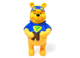 Disney - Winnie gel douche enfant 3D