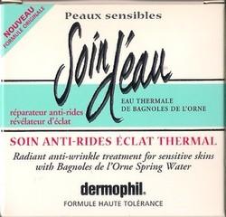 DERMOPHIL Soin d'eau anti-rides eclat thermal