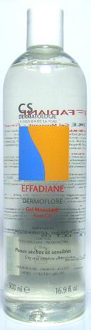 Effadiane Dermoflore Gel Moussant flacon 500 ml