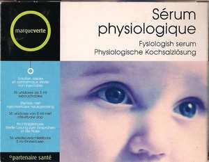 Marque Verte Sérum Physiologique 5 unidoses