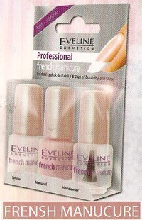 Eveline professional french manicure