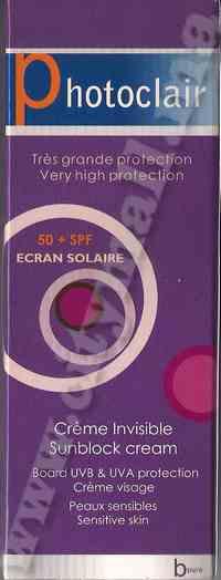 photoclair spf 50+ (50ml)