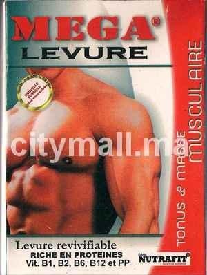 MEGA LEVURE Tonus & masse musculaire 90 comprimés