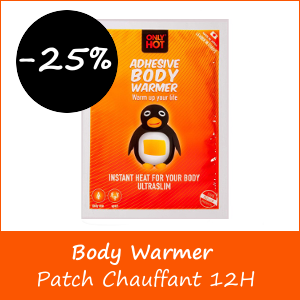 Promotion Body Warmer Patch Chauffant 12H - -25%