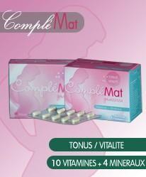 Complémat grossesse vitamines + minéraux 60 gélules
