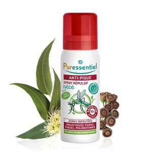 Puressentiel Spray Répulsif Anti-pique Bébé 60ml