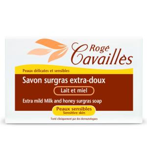 Rogé Cavailles Savon surgras Extra doux lait et miel  150 g