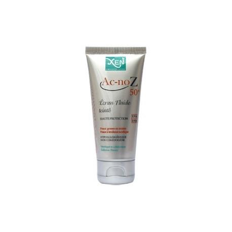 Xen Ac-noZ 50+ Ecran Fluide Teinte peaux grasse à mixte 50gr