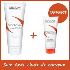 Offre Ducray Anaphase+ - Shampoing anti-chute 200ml + Après shampoing anti-chute 50ml OFFERT