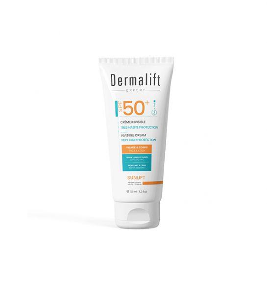 Dermalift Sunlift Ecran invisible Spf50+ 125ml