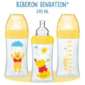 dodie Biberon Sensation+ 270 ml WINNIE tétine débit 2