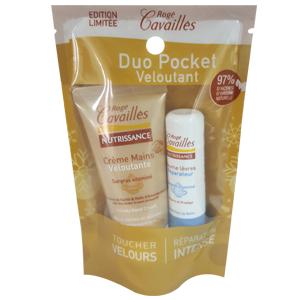 Rogé Cavaillès Nutrissance Duo pocket veloutant Crème mains et baumes à lèvres