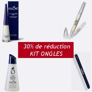 Herôme promotion KIT Ongles, Durcisseur fort + Stylo Magique + Dissolvant + Lime