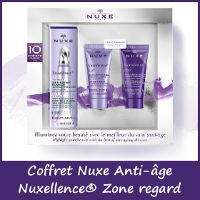 Offre Coffret Nuxe Anti-âge Nuxellence® Zone regard