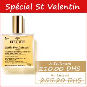 Offre spéciale Saint Valentin Nuxe Huile Prodigieuse (100 ml)