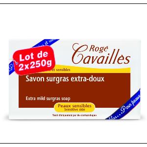 Rogé Cavailles savon surgras classique 2 x 250 g