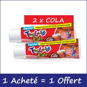 Offre Dental kids tra-la-la dentifrice 50ml, 1 Acheté + 1 Offert