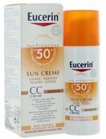 EUCERIN SUN PROTECTION CC CRÉME MÉDIUM SPF 50+ (50 ML)