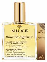 Nuxe Huile Prodigieuse (100 ml) + parfum 1.2 ml OFFERT