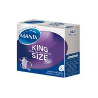 Manix King size 3 preservatifs