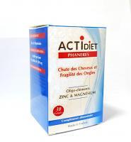 Actidiet phaneres 30 gélules