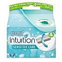Schick Intuition Plus Sensitive (3 lames de recharge) - 1 boite tous les 4 mois
