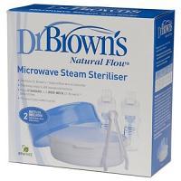 Liquidation Dr.Brown's Stérilisateur Vapeur Pour Micro-ondes ( emballage légèrement abîmé)