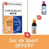 Offre - Forté Pharma MINCEUR (24+) + Turbo Draine 500ml + Sac de sport OFFERT