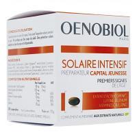 OENOBIOL SOLAIRE INTENSIF PRÉPARATEUR CAPITAL JEUNESSE. 30 CAPSULES