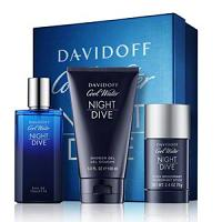 Davidoff Coffret Cool Water Night Dive Eau de Toilette 75ml + Gel douche 150ml + Déodorant stick 75ml