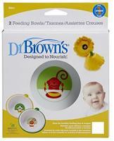 Dr brown's set de 2 bols 6 mois+