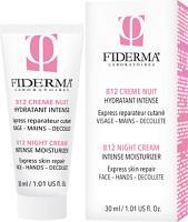 FIDERMA B12 crème nuit Hydratant Intense 30 ml