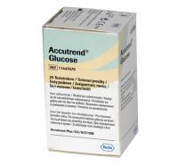 Bandelettes Glucose Accutrend 25 Unités