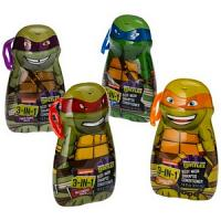 Air-Val Ninja Turtles 2in1 Gel + Shampooing 400ml Réf : 6250