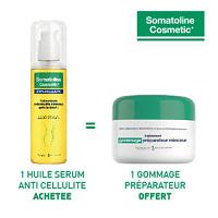 Somatoline huile sérum anti-cellulite intensive 125ml = 1 Gommage Somatoline offert