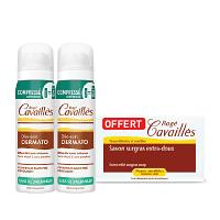 Offre pack Rogé Cavaillès lot de 2 Déo-Soin Spray Compressé Dermato 75ml + Savon Extra Doux 250 grs OFFERT
