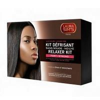 LAURA SIM'S Kit défrisant super 405 ml - cheveux épais et résistants