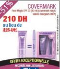 Promotion Covermark Face Magic SPF 20 (30 ml) (covermark magic lashes masquara Offert)