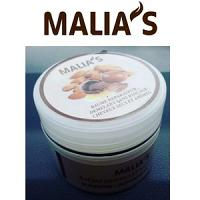 Malia's Baume Démêlant Sans Rinçage Karite - Amande Douce 150G