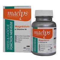 Maelys magnésium et vitamine B6 30 gèlules