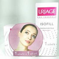 Offre Uriage Isofill Crème Riche Focus Rides 50ml + Uriage isofill contour des yeux Focus rides 15ml offert