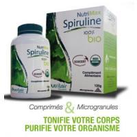 Nutrimax grand model spiruline 100% bio, 240 comprimés