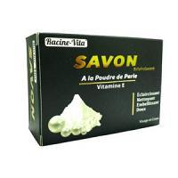 Racine-Vita Savon Éclaircissant à La Poudre de Perle et Vitamine E 80G