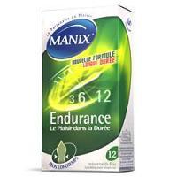 Manix Endurance 12 preservatifs
