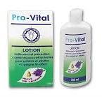 Pro-vital lotion Traitement et prévention contre les poux et les lentes pour enfants et adultes + peigne offert