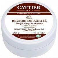 CATTIER Beurre de Karité Nature 20g