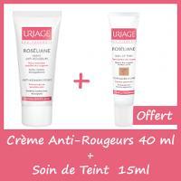 OFFRE Uriage Roséliane Crème Anti-Rougeurs 40ml + Soin de teint 15ml OFFERT