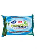 UNI Menthol - 15 lingettes humides fine et douce non-tissé